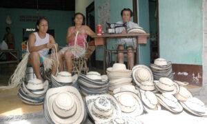 Sombrero de Pindo, el tejido a mano de una tradición 1