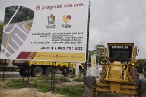 Pavimentación de la vía Purificación - Chenche Asoleado ya es una realidad 1