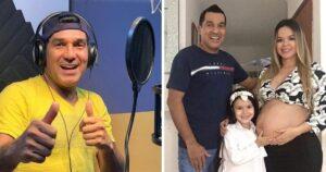 Nació Naomi: Checo Acosta tuvo su segunda hija a los 55 con su joven y atractiva esposa 1