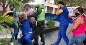 A médico lo agredieron por diagnosticar a una persona con Covid y su llanto da impotencia 1