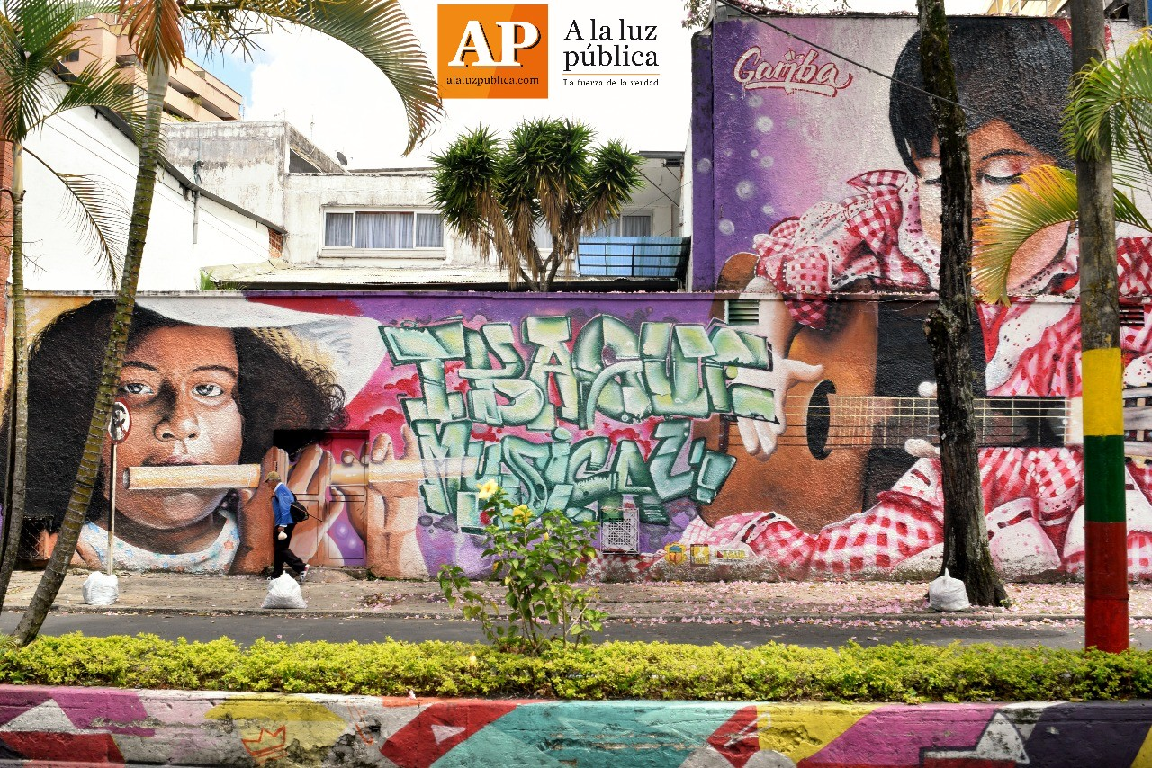 Así lucen los mejores murales y grafitis de Ibagué 2