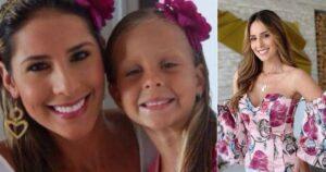 Con su hermanita vestida de ángel, Carolina Soto recordó su partida y le rindió homenaje 1