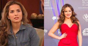 Danna García posó con body transparente y está igual de bella que en 'Pasión de Gavilanes' 1