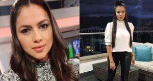 Sheyla García, de Win Sports, presentó el noticiero con una minifalda y no los dejó concentrar 1