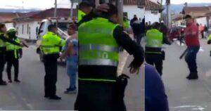 Policía se defendió de la agresión de un ciudadano accionando su arma 13