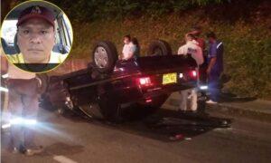 La última carrera de 'Rufi': El taxista que murió en su carro volcado en la Guabinal con 37 1