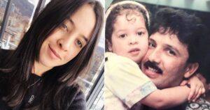 Una copa y un pastel: La hija menor de Rafaél Orozco celebró su cumple sin ser ostentosa 1