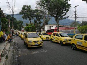 Pico y placa para taxis se modifica durante el fin de semana 1
