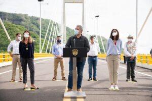 Presidente promete más proyectos 4G en inaguración de puente de Honda y autopista Girardot-Honda-Puerto Salgar 1