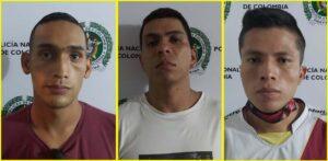 Tres hombres fueron capturados con un cuchillo en intento de atraco a taxista 1