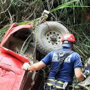 Un muerto y dos heridos en accidente de tránsito en la vía a Tapias 1
