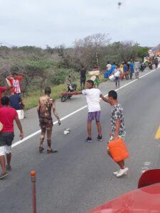 A 21 sube la cifra de fallecidos por explosión de camión con gasolina en la Costa Caribe 1