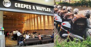 Pujanza colombiana: Crepes & Waffles lanzó flota de domiciliarias con motos eléctricas 4