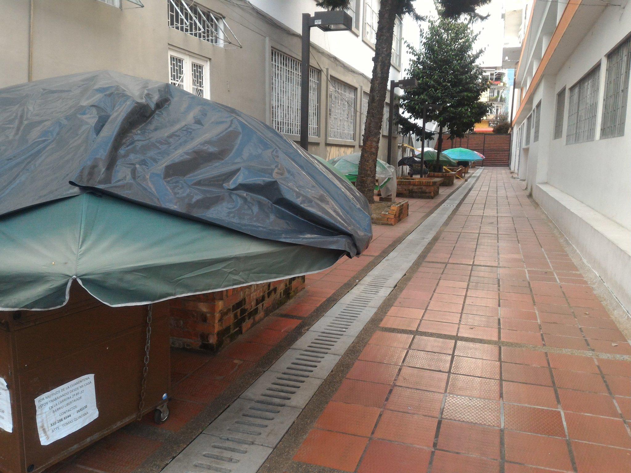 otros afectados por la pandemia en Ibagué 2