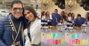 Tata Becerra demostró humildad al celebrar el cumpleaños de Peter Manjarrés con sus empleadas 1