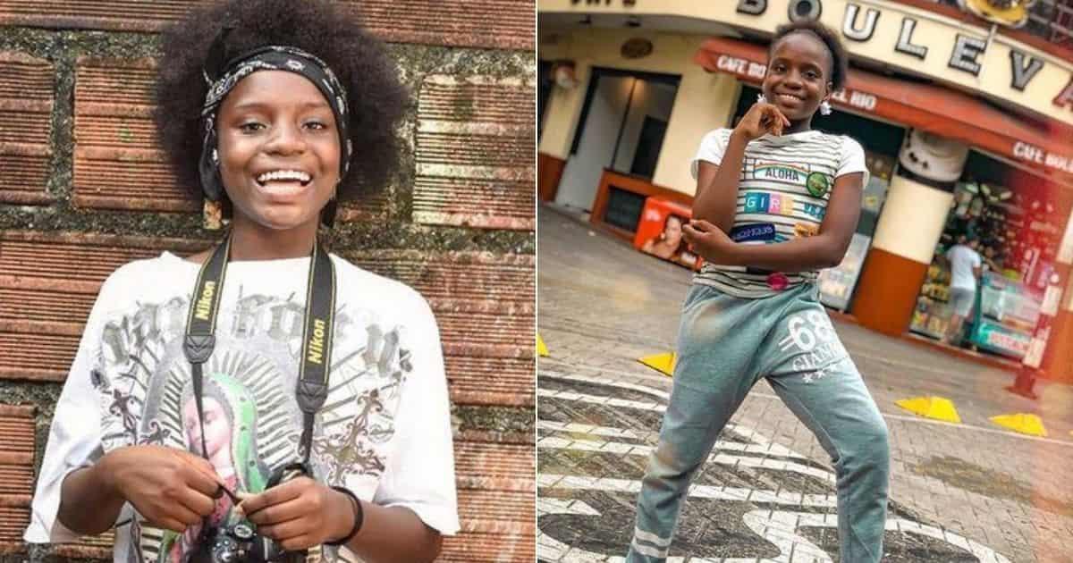 La instagramer Leidy La Hermosura le dijo adiós a su afro y se rapó la cabeza 8