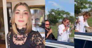 Llorando y con micrófono en mano, la actriz Marianne Schaller se despidió de su papá 1