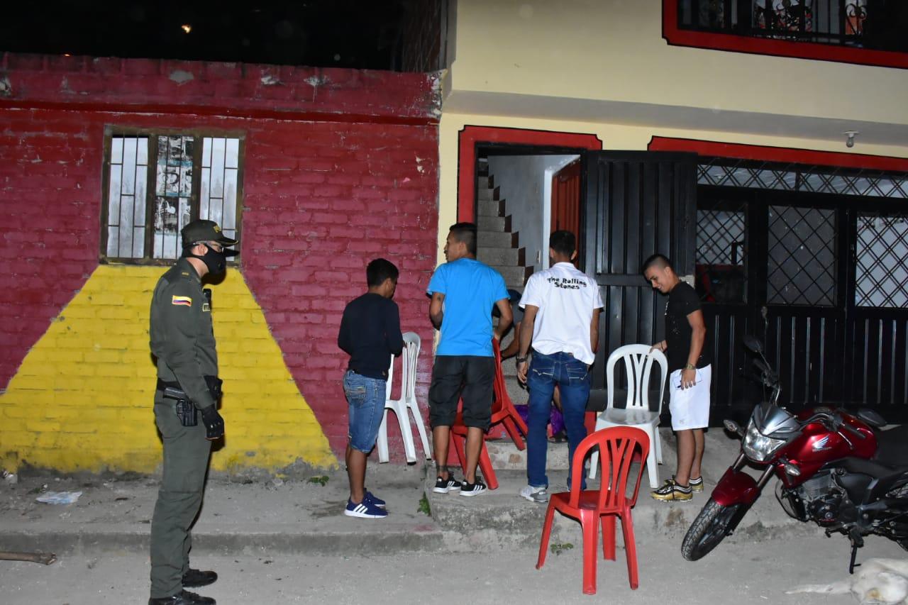 106 comparendos se impusieron durante los 'Operativos por la Vida' en las 13 comunas de Ibagué 3