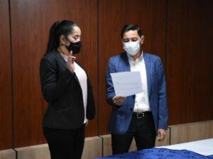 Sandra García se posesiona como nueva Gerente del IBAL - 1