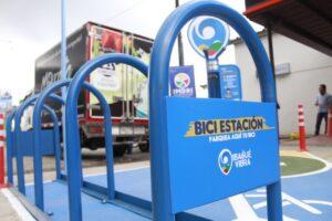 Administración Municipal instaló primera 'BiciEstación' en Ibagué - 1