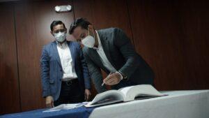 Alcalde posesionó a Didier Blanco como nuevo gerente de la Gestora Urbana 1