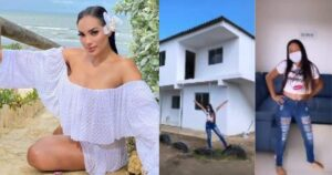 Andrea Valdiri mostró la casa que le construyó a su empleada 1