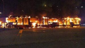 Siete muertos, 140 heridos, saldo de jornada de protestas en Bogotá 1