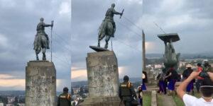 Derrocar estatuas, un autogol monumental 1