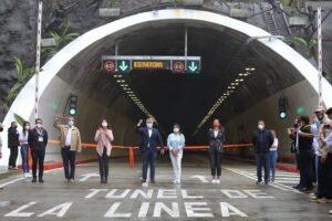 En fotos: ¡Viva Colombia! Así fue la inauguración del Túnel de La Línea 1