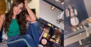 Paola Jara chicaneó exclusivo tocador de espejos que se compró 1
