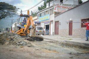 Inicia recuperación vial en el barrio Las Ferias - 1