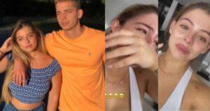Daniela Legarda lloró al sentir la presencia de su hermano 1