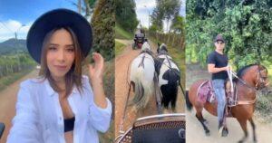 Luisa Fernanda W, cuestionada por paseo en carruaje de caballos 1