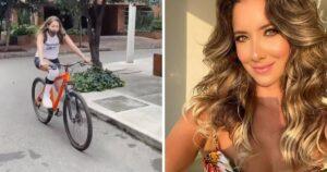 Daniela Álvarez ya monta en bicicleta 1