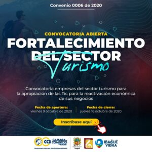 Le puede interesar: Convocatoria sector turismo - 1
