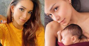Andrea Tovar contó que la atendieron mal cuando dio a luz 1