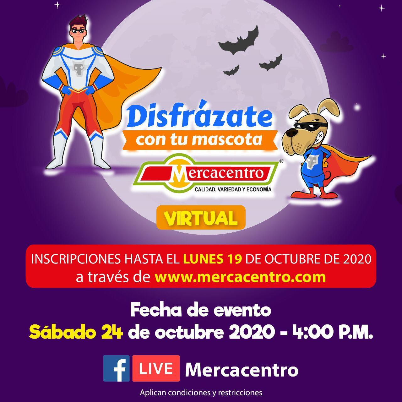 Mercacentro realiza convocatoria para su primer concurso virtual de disfraces para mascotas   A La Luz Pública, Principal Medio de Comunicación Digital en Ibagué 2