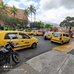Modificado el 'pico y placa' para taxis en Ibagué 1