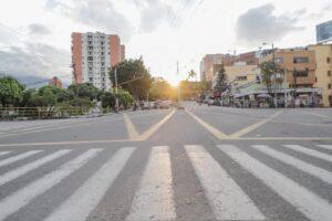 Taxistas bloquearon la calle 60, poniendo en jaque la movilidad de Ibagué 1
