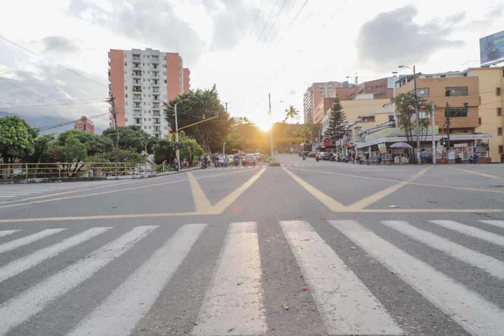 Taxistas bloquearon la calle 60, poniendo en jaque la movilidad de Ibagué 2