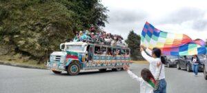 Temor en el barrio Las Ferias por llegada de la minga indígena a Ibagué 1