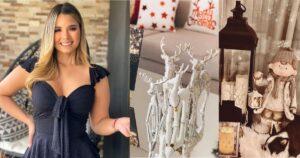 Melissa Martínez y la decoración navideña de su hogar 1