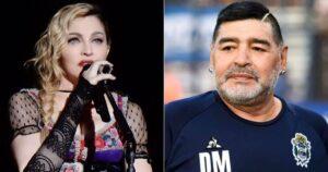 Madonna fue confundida con Maradona y la lloraron en redes 1