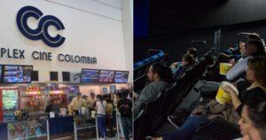 Cine Colombia deseó suerte a sus colegas en reapertura 1