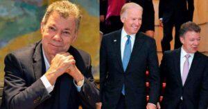 Biden fue felicitado por Juan Manuel Santos en Twitter 1