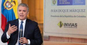 Iván Duque tendrá que retirar placa con su nombre del Túnel de La Línea 1