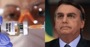 Presidente de Brasil dice no a la vacuna contra el Covid 1