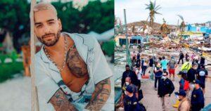 Maluma enviará ayuda humanitaria a Providencia y Chocó 1