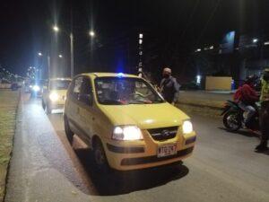 Taxis operarán hoy con el 50 % de su capacidad 1