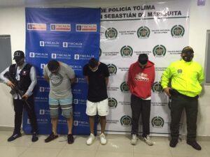 Cayó la banda 'Fronteras del Norte', acusada de 12 sicariatos en Mariquita y Honda 1